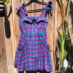 Marc by Marc Jacobs Plaid Sundress